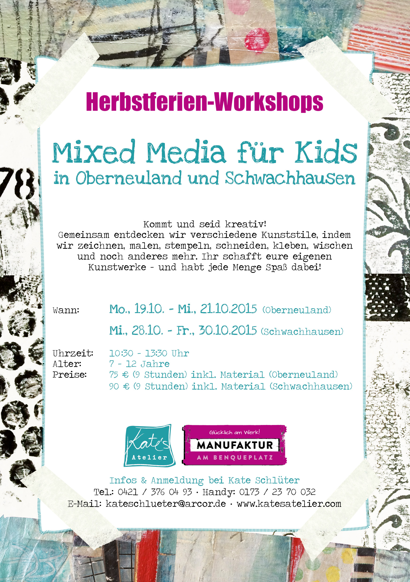Mixed Media & Collage für Kids